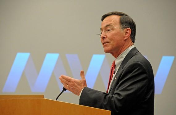 MeadWestvaco Chairman and CEO John A. Luke. - SCOTT ELMQUIST