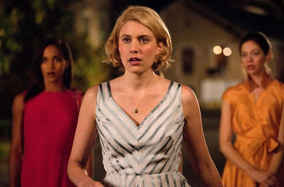 Megalyn Echikunwoke, Greta Gerwig and Analeigh Tipton play it smart in Whit Stillman's whimsical new film, the director's first in more than a decade. - SABRINA LANTOS
