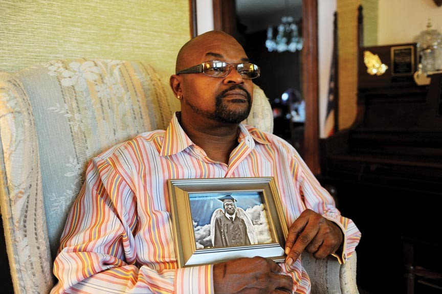 Michael K. Brown Sr. was hit hard by his son's murder and hoped for an arrest. He died Saturday after slipping into a diabetic coma.
