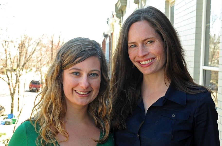 Michele Lord and Susan Hill, right, sit on the Richmond Food Cooperative's board of directors. - SCOTT ELMQUIST