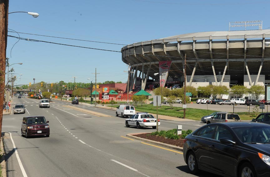 Moving the ballpark would open the Boulevard, one of the city's key gateways, for major big box retail development.