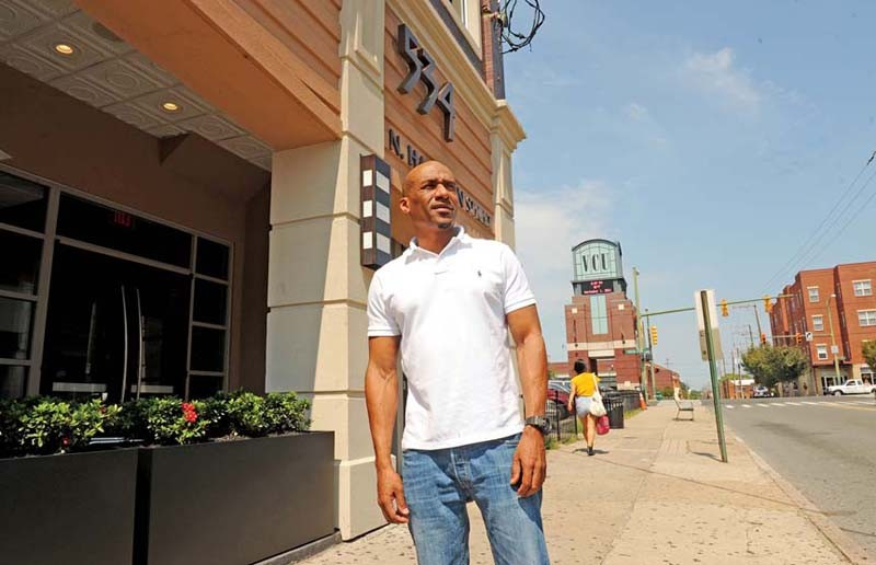 Nat Dance, owner of Club 534 near VCU, spent about $100,000 transforming his nightclub into a daytime cafe complete with outdoor seating and 10 flat-screen TVs. - SCOTT ELMQUIST