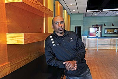 "Nat Dance, owner of Club 534, spent nearly eight hours at City Hall applying for a new public dance hall permit. The clubs, he says, have unfairly taken the brunt of the political backlash over recent violence: ""We are the easy target."" - SCOTT ELMQUIST"