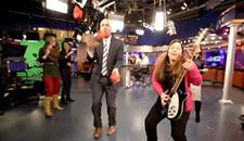 "NBC-12 Shoots for Mood-Booster in ""Happy"" Music Video"