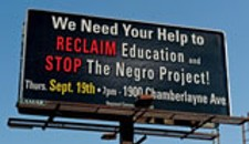"""Negro Project"" Billboard Controversy Triggers Changes"