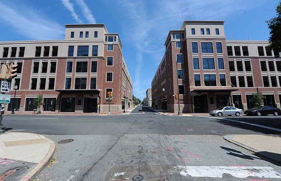 New looks: Virginia Commonwealth University transforms the western side of Belvidere. - SCOTT ELMQUIST