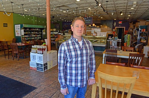 New Olio co-owner Matt Fraker doesn't plan big changes for the gourmet sandwich shop, but he does want to expand the wine selection.
