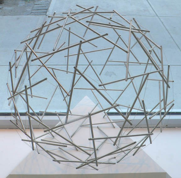 Ninety Strut Tensegrity Sphere (1981)