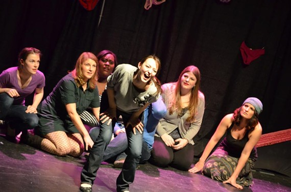 """Norfolk comedy group the Pushers bring their all-female sketch comedy show, """"Panties in a Twist"""" to the National on Saturday."""
