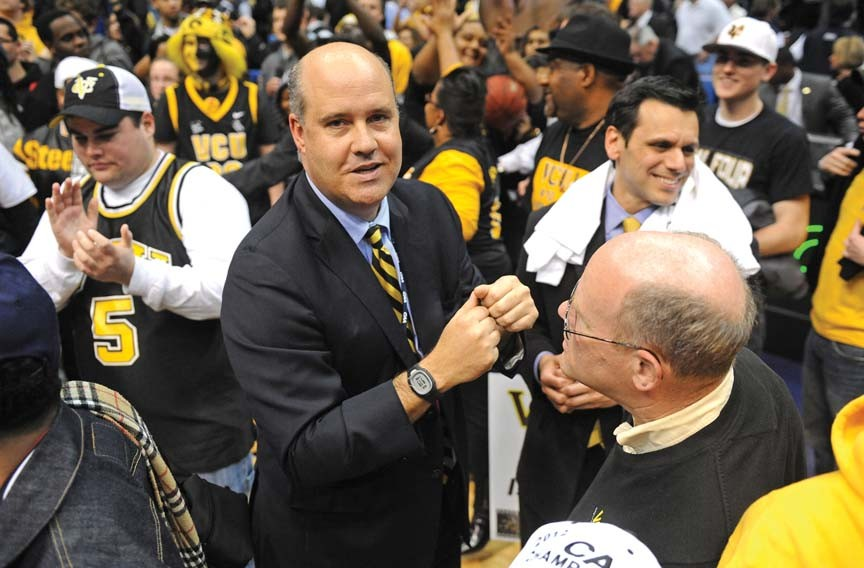 Norwood Teague's greatest feat was keeping VCU coach Shaka Smart in Richmond, where the Rams won this year's Colonial Athletic Association championship at the Richmond Coliseum. - SCOTT ELMQUIST