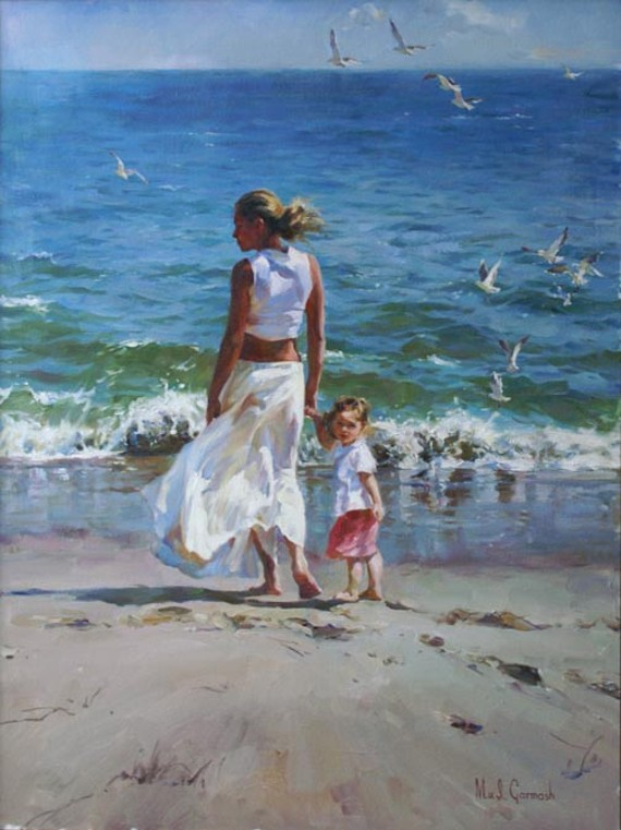 """Ocean for Two"" by Michael & Inessa Garmash"