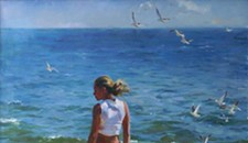 """Life's a Beach"" at Chasen Galleries"
