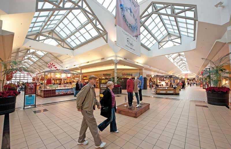 On a recent Thursday afternoon, Chesterfield Towne Center bustles with customers. Built 36 years ago, the diamond-themed shopping center may be the healthiest of the remaining Richmond-area malls. - SCOTT ELMQUIST