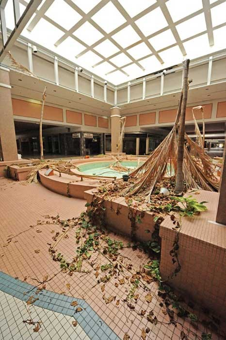 Once the region's premiere shopping mall, Cloverleaf Mall represented the center of fashion in Richmond. The mall — and its penny fountain in the plaza — soon will be demolished for good. - SCOTT ELMQUIST