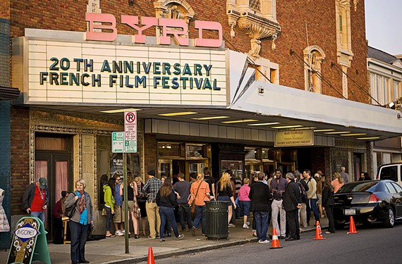 One of the Byrd's longest-running partners has been the French Film Festival, the largest and most important French of its kind in the United States. Co-founders and co-directors Peter and Françoise Kirkpatrick hope to meet soon with the foundation to discuss plans for the festival during the restoration process. - ASH DANIEL
