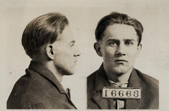 One of the library blog's popular features is Mug Shot Mondays. - LIBRARY OF VIRGINIA
