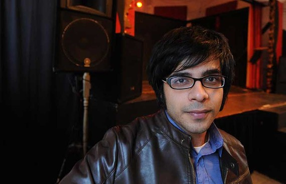 Organizer Prabir Mehta sees the Ghost of Pop festival as a way of celebrating melody as well as volume.  The multi-artist concert takes place at Gallery5 on Dec. 10. - SCOTT ELMQUIST
