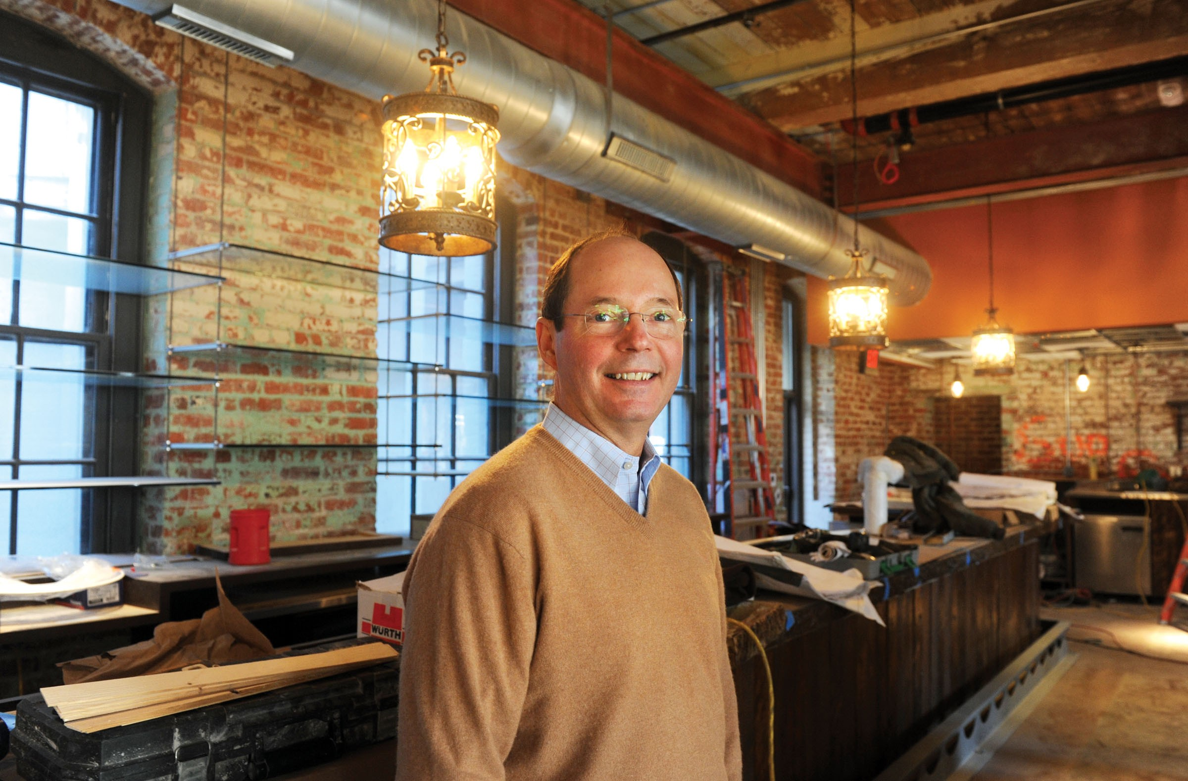 Owner Kevin Healy wants his new upscale Mexican cantina, Casa del Barco, to be part of the social fabric of the Canal Walk area. - SCOTT ELMQUIST
