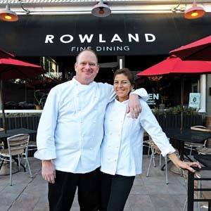 Owners Bruce and Virginia Rowland joined more than two dozen local restaurants for the ninth annual Richmond Restaurant Week, which ended Sunday. Most businesses say traffic was up substantially this year, giving social media credit for extra attention to the benefit. Photo by Scott Elmquist.