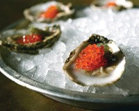 Oysters and pearls of trout caviar are the star, but there's more to discover on the menu at downtown's Rappahannock.
