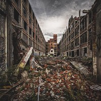 Jamie Betts Photography Packard Plant in Detroit. Scott Elmquist