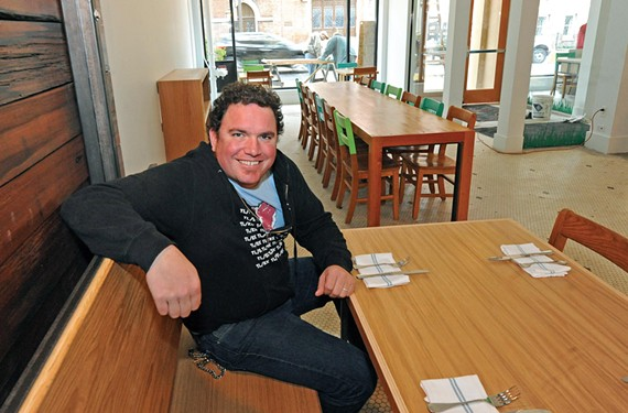 Pasture co-owner Jason Alley says the restaurant's Charlottesville outpost is being re-imagined as a barbecue joint.