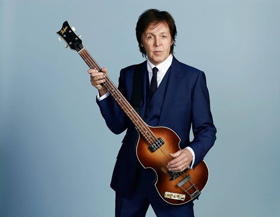 Paul McCartney will be playing Charlottesville for the first time ever in June.