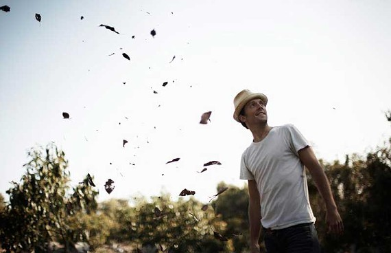 Paying it forward: He's world famous now, but pop star Jason Mraz gives credit where it is due: SPARC. - BIL ZELMAN