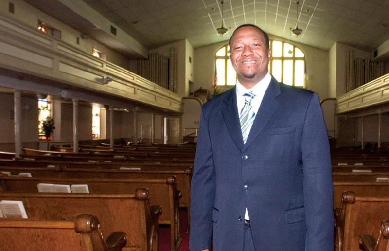 """""""People really are trying to break down those barriers and those walls"""" of segregation in Richmond, the Rev. Tyrone Nelson says. """"How we do it, I don't know."""" - SCOTT ELMQUIST"""