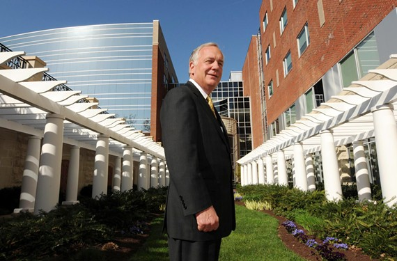 Peter Bernard, at St. Francis Medical Center in Midlothian, is retiring as chief executive of Bon Secours Virginia in August.