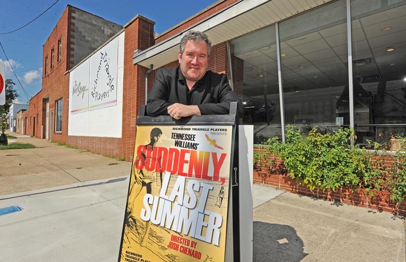 Philip Crosby, managing director of the Richmond Triangle Players, thinks that the work of the late Tennessee Williams is as relevant as ever. His theater and the Firehouse Theatre will celebrate Williams' 100th birthday by staging two of his classic plays. - SCOTT ELMQUIST