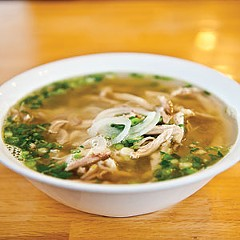 Pho 79's flavorful broth that sets it apart from other pho houses in Richmond.
