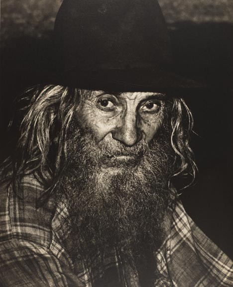 """Photographer Jack Jeffers took """"a hard right turn"""" when he discovered the people of Appalachia. Examples of his work, such as """"Mountain Man"""" (1972), can currently be seen at the Virginia Historical Society. - VIRGINIA HISTORICAL SOCIETY"""