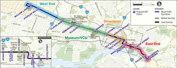 Planned stops, as released Monday. - GRTC