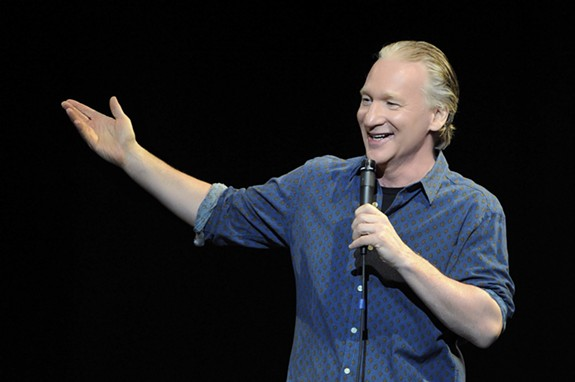 Politically incorrect comedian Bill Maher returns to Richmond this July 10 at the Carpenter Theatre. Tickets go on sale this Friday. - DAVID BECKER