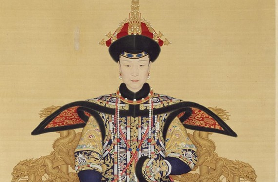 Portrait of Empress Xiaoxianchun. - VIRGINIA MUSEUM OF FINE ARTS