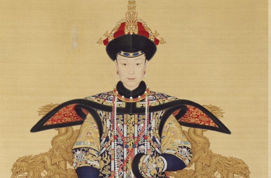 Portrait of Empress Xiaoxianchun. - VIRGINIA MUSEUM OF FINE ARTS
