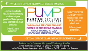 Pump Custom Fitness