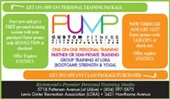 Pump Custom Fitness