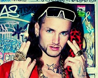 """Rapper Jody Christian aka Riff Raff, feels he was the inspiration for James Franco's character, Alien, in the film """"Spring Breakers."""" He's yet to claim any association with the Cowardly Lion from the """"Wizard of Oz,"""" though."""