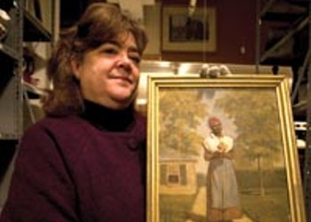 "Rare ""Aunt Betsy"" Portrait Bolsters Valentine"