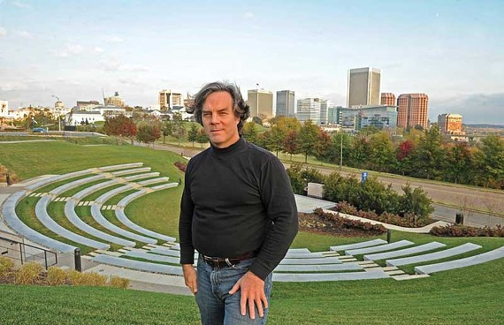 Real sustainability is driven by individual actions, says green architect and solar energy advocate Patrick Farley. He'd like to see a coordinated effort to save energy by powering down the city's skyline at night.