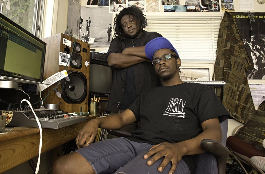 Reggie Pace and Devonne Harris launched Jellowstone Records. - SCOTT ELMQUIST
