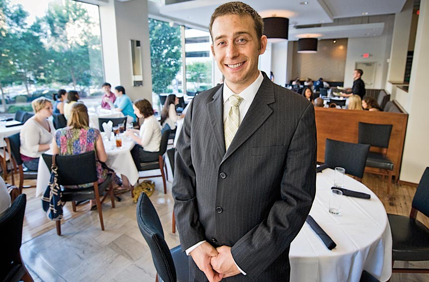 """Restaurants are full of problems,"" Tom Haas says. ""Nothing ever goes right."""