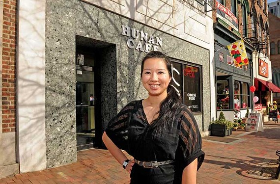 Restaurateur Holy Yang recently signed a lease at the former Hunan Cafe at 1112 E. Main St. to create a modern lounge with Asian cuisine. - SCOTT ELMQUIST