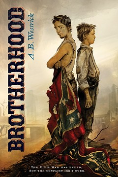 "Richard Peck, the - Newbery - Award - -winning author of A Year Down - Yonder, - describes BROTHERHOOD this way: ""A boy struggling to come of age in a ruined world reaches in all the wrong directions for being and belonging in this story that uncovers a trove of hidden history."""