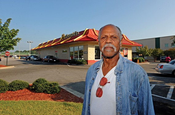 Richmond activist Fattah Muhammad says that if McDonald's and other fast food restaurants closed, many residents in his neighborhood would panic.