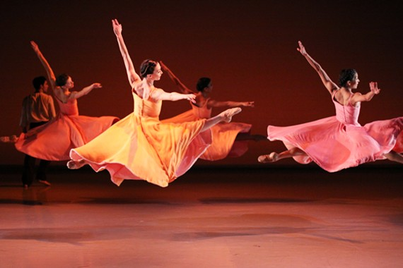 """Richmond Ballet in Ma Cong's """"Ersther Vals,"""" one of the pieces the company plans to perform while in China."""