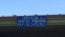 Richmond Resistance Protest at Riverrock
