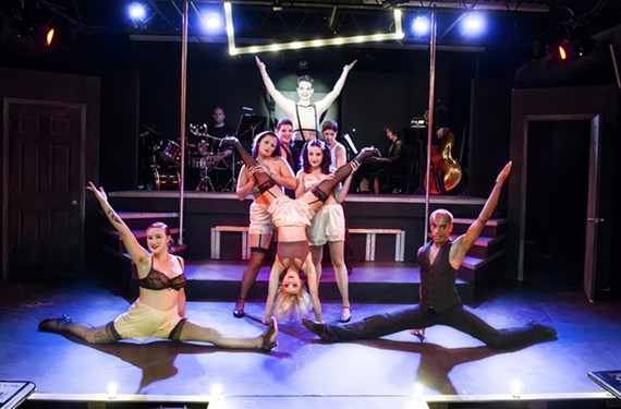 """Richmond Triangle Players' summer run of """"Cabaret"""" was one of the productions honored at last night's Artsies."""